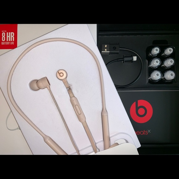 Beats By Dr Dre Other Sold Beats X Wireless Earbuds Limited Color Poshmark